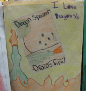 Student art for Draco's Fire
