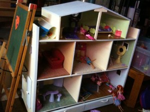 Barbie Dollhouse built by Wayne Thomas