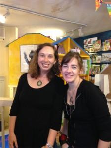 Maggie Stiefvater and Erin Thomas