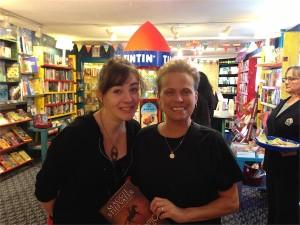 Maggie Stiefvater and Susan Blakeney