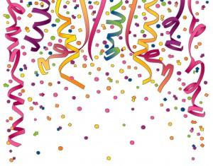 Confetti (photo credit Billy Alexander on StockExchange)